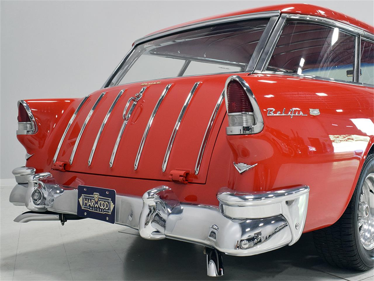 Large Picture of Classic '55 Chevrolet Nomad located in Macedonia Ohio Offered by Harwood Motors, LTD. - O8YP