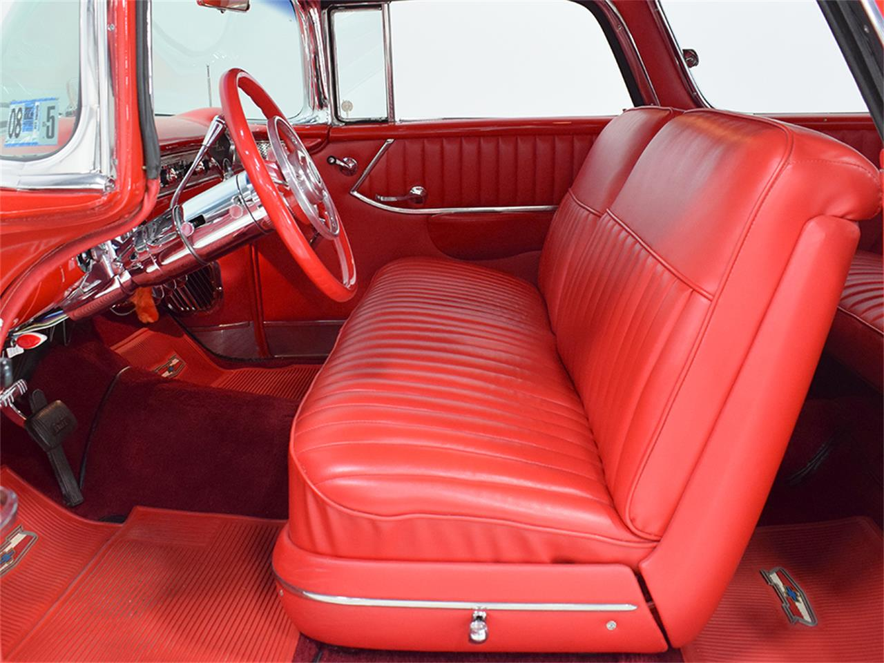 Large Picture of 1955 Chevrolet Nomad located in Ohio Offered by Harwood Motors, LTD. - O8YP