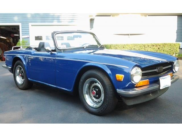 Picture of Classic '71 TR6 located in Hanover Massachusetts - O92J