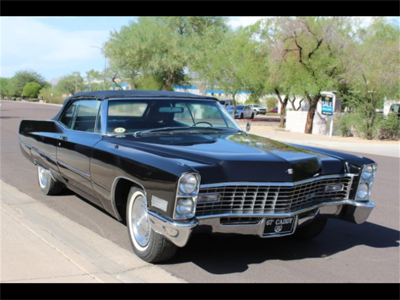 1967 cadillac deville for sale cc 1132471. Black Bedroom Furniture Sets. Home Design Ideas