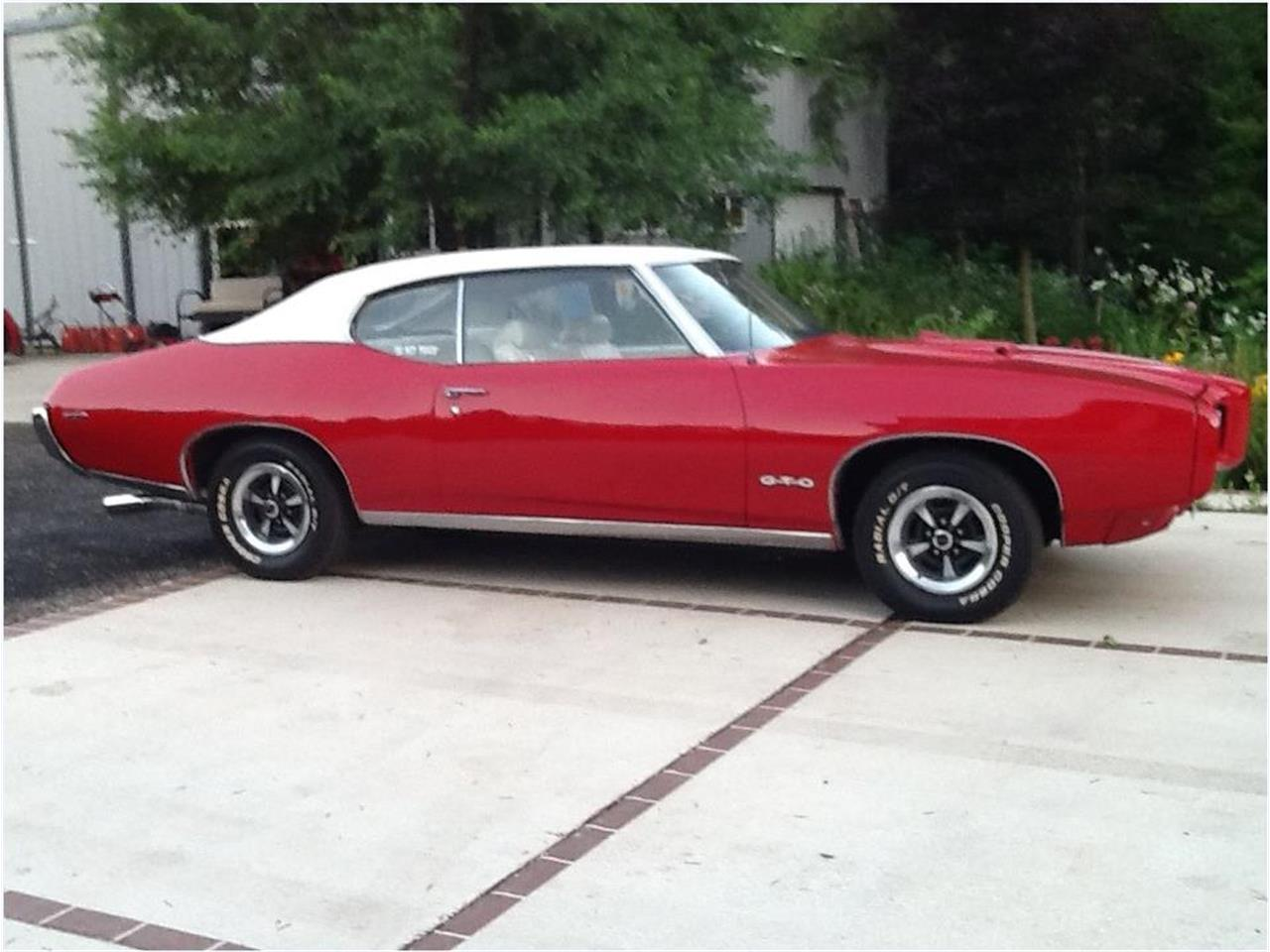 For Sale: 1969 Pontiac GTO in Plymouth, Wisconsin