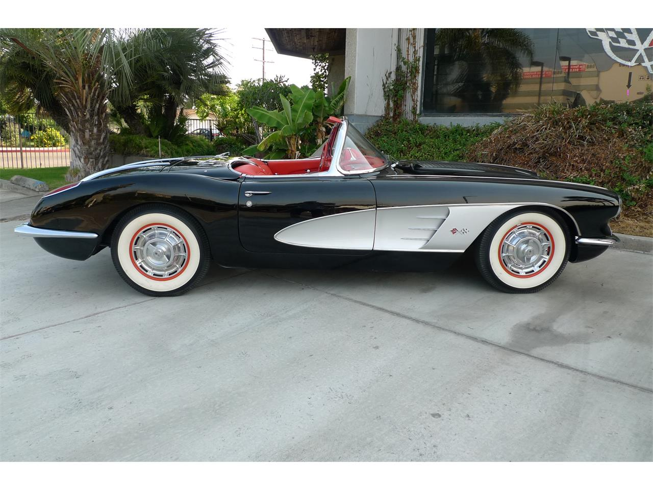 Large Picture of '58 Chevrolet Corvette Offered by Coast Corvette - O9I4