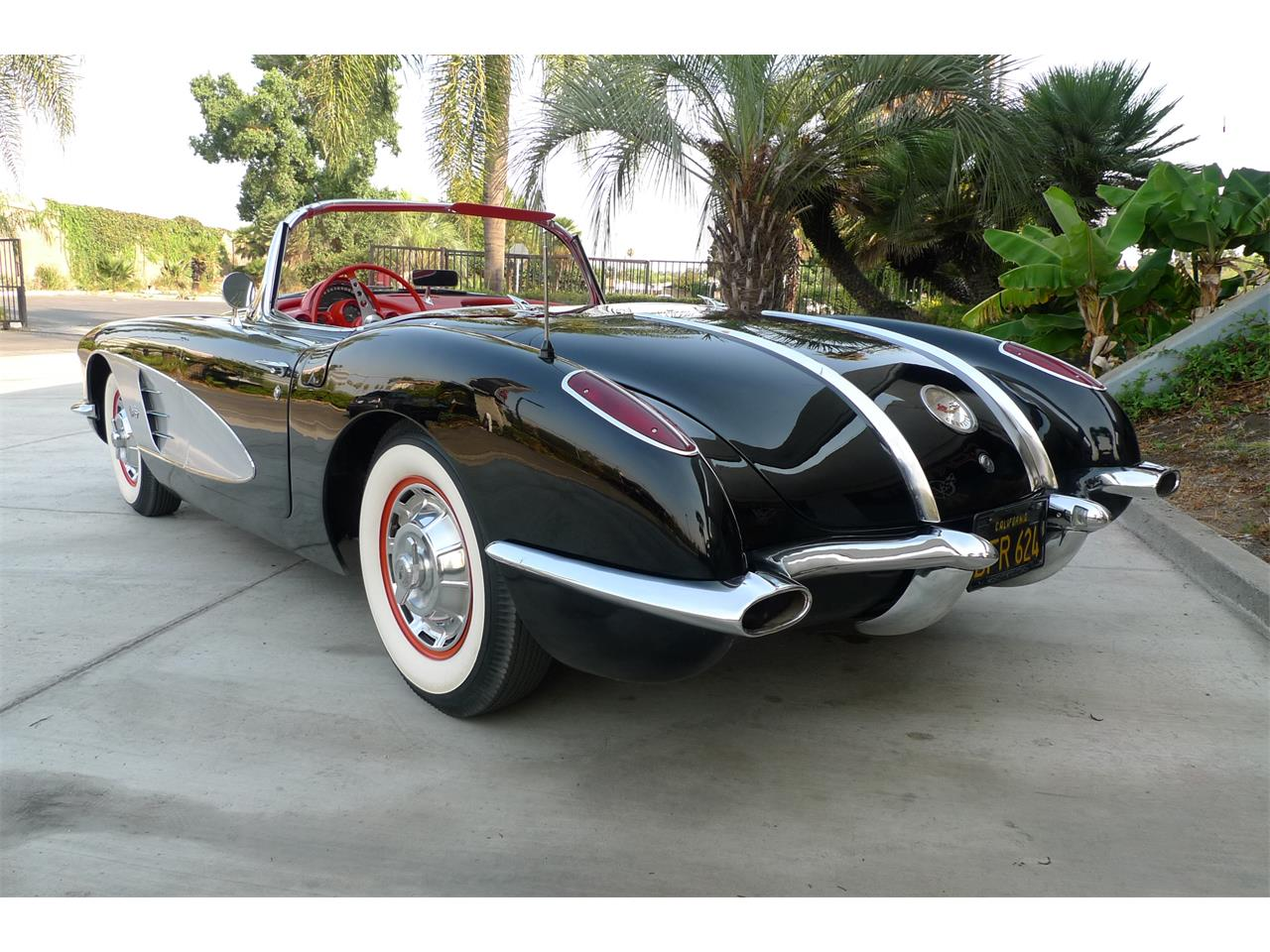 Large Picture of Classic '58 Chevrolet Corvette located in California - $79,975.00 Offered by Coast Corvette - O9I4