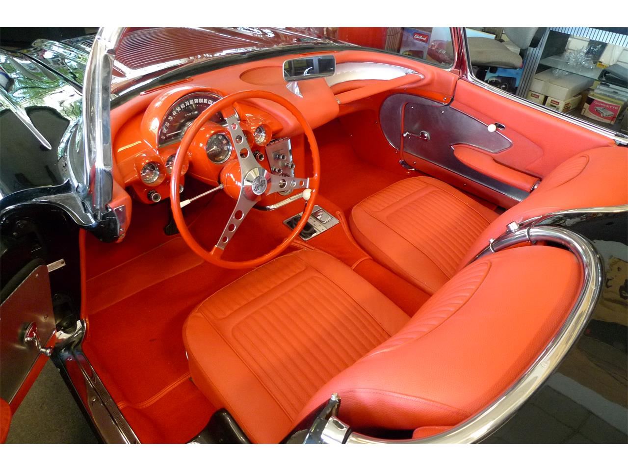 Large Picture of 1958 Corvette located in Anaheim California Offered by Coast Corvette - O9I4