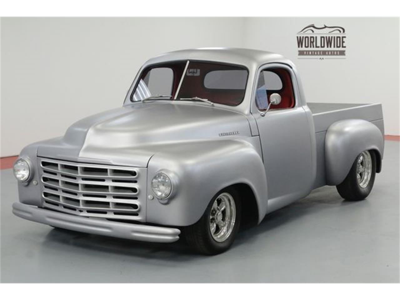 Classic Studebaker Pickup for Sale on ClassicCars.com