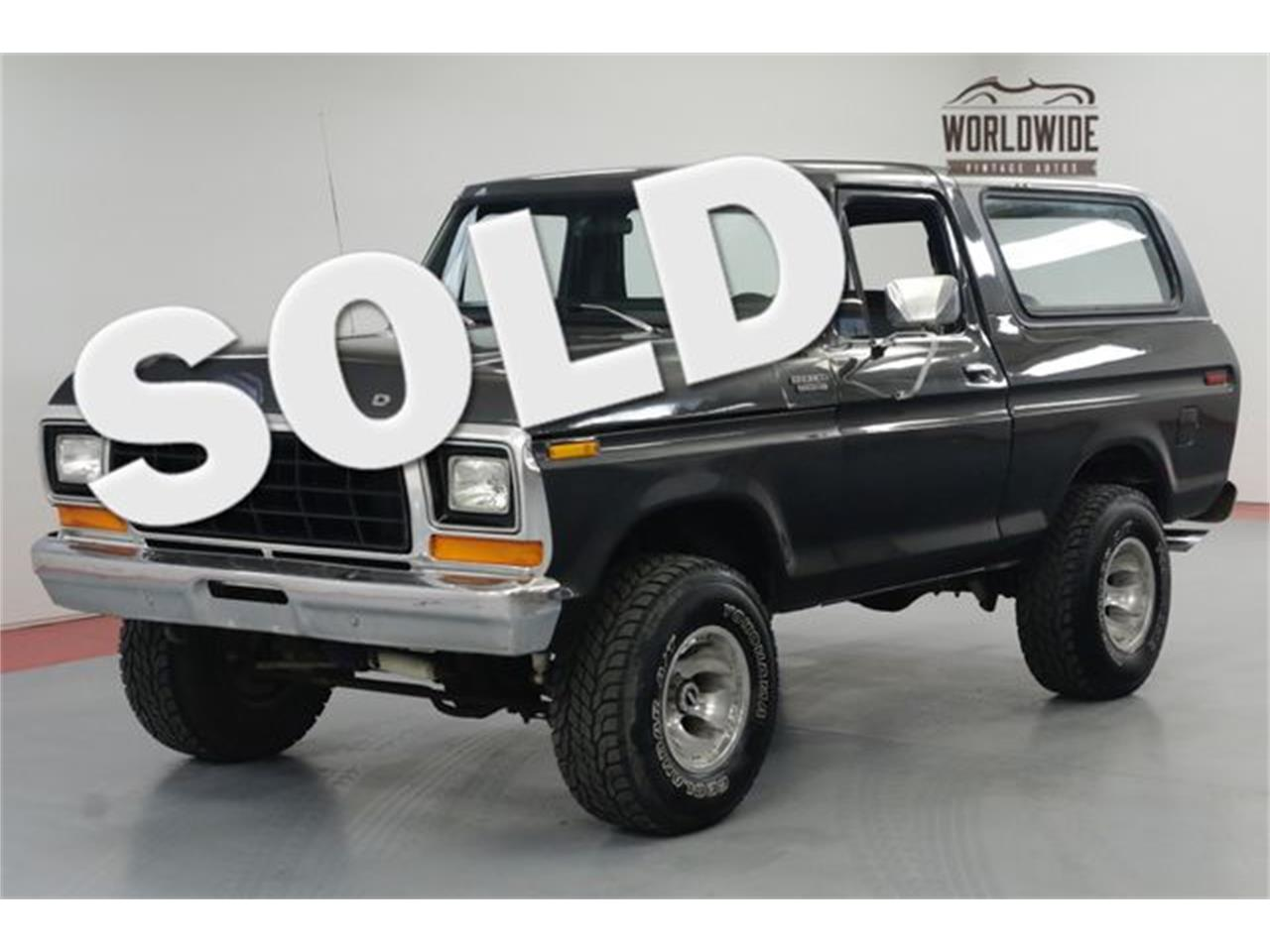 Large picture of 79 bronco o9wn