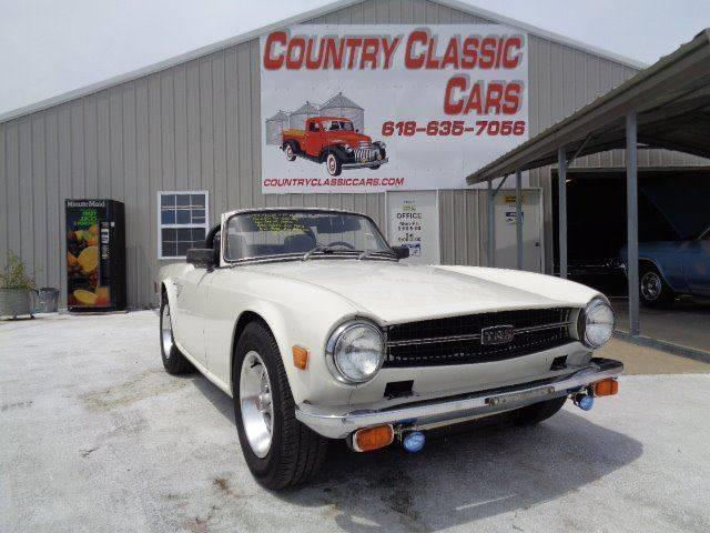 Picture of '69 TR6 - O9X9