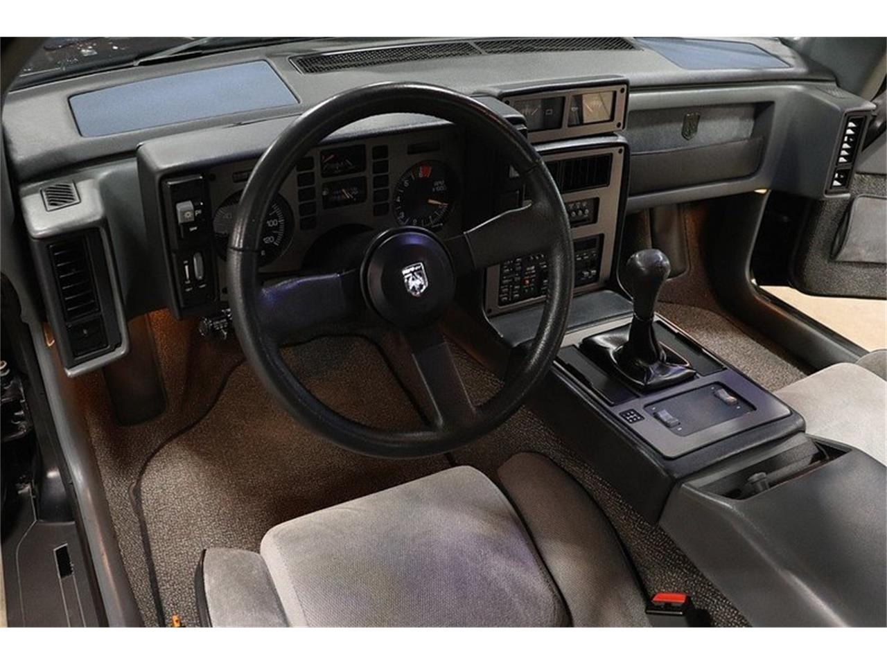 1986 Pontiac Fiero For Sale Cc 1130282 Dashboard Large Picture Of 86 O84q