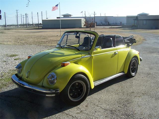 1974 volkswagen super beetle for sale cc 1008311. Black Bedroom Furniture Sets. Home Design Ideas