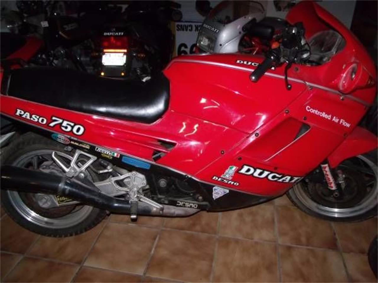 Large Picture of '87 Ducati Motorcycle located in Cadillac Michigan Offered by Classic Car Deals - O85S