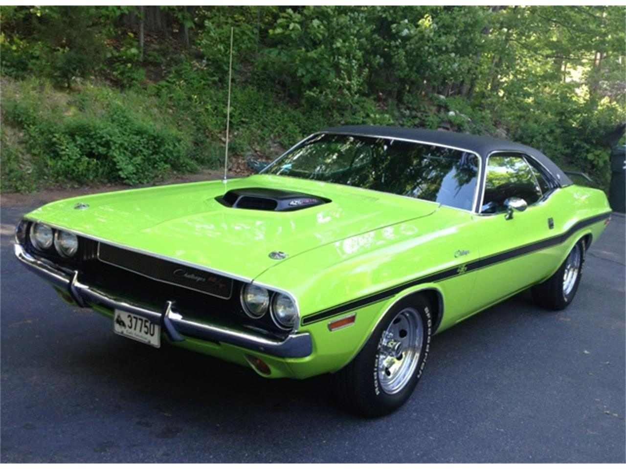 1970 dodge challenger r t for sale cc 1133218. Black Bedroom Furniture Sets. Home Design Ideas
