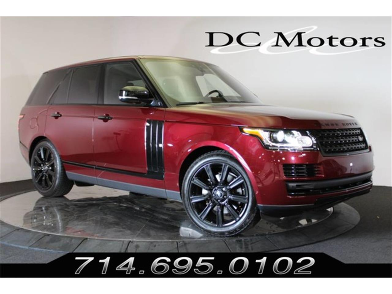 Picture of '17 Range Rover - OAFE