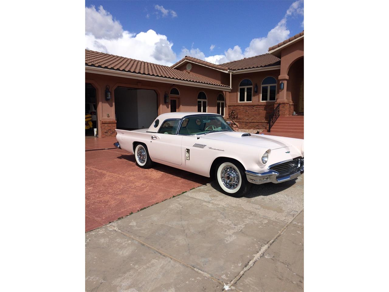 1957 ford thunderbird for sale cc 1133329. Black Bedroom Furniture Sets. Home Design Ideas