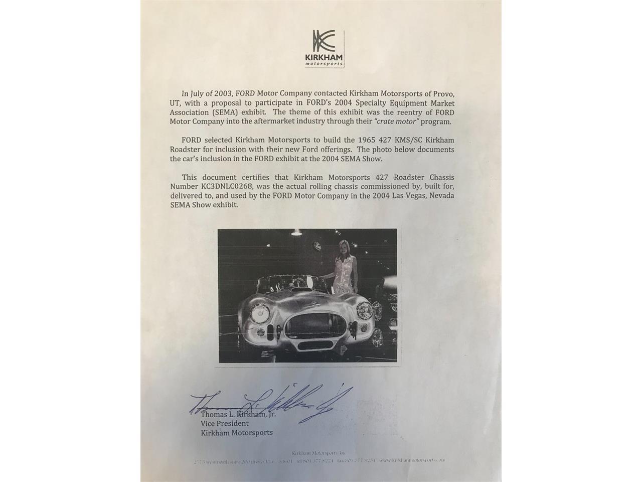 Large Picture of Classic '65 Kirkham Cobra - $179,995.00 - OAK6