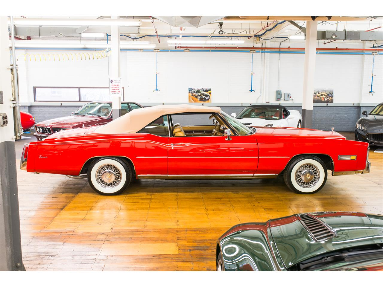Large Picture of 1976 Cadillac Eldorado located in Fairfield County Connecticut Offered by Black Horse Garage - OAO6