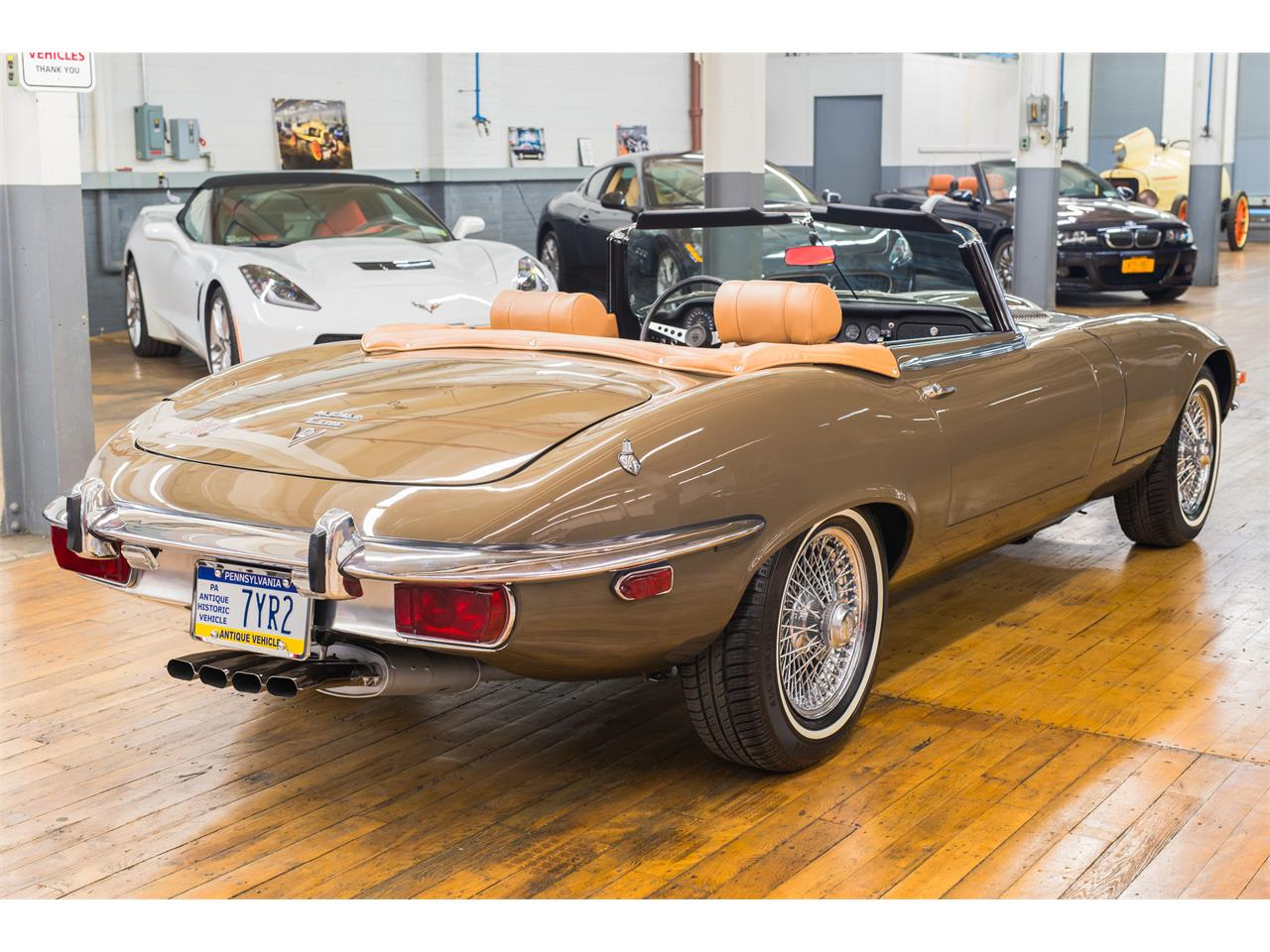 Large Picture of '73 E-Type - OAW7