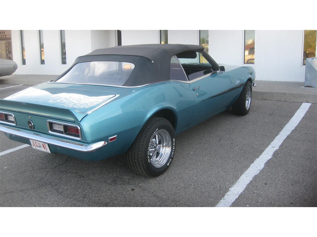 Chevrolet El Paso >> For Sale 1968 Chevrolet Camaro Rs In El Paso Texas