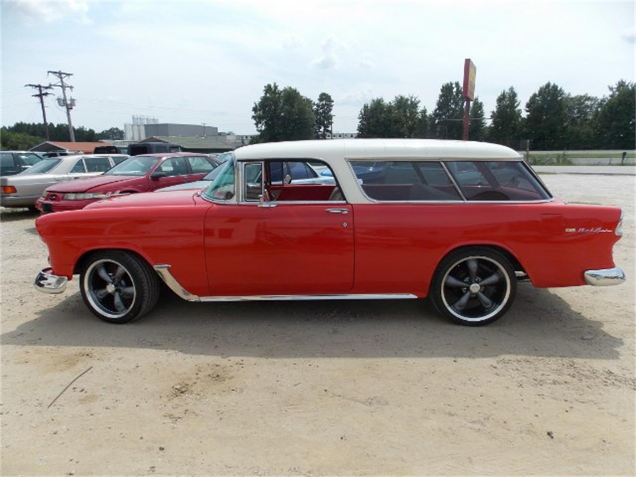 Large Picture of Classic 1955 Nomad located in Gray Court South Carolina Offered by Classic Cars of South Carolina - OBDX