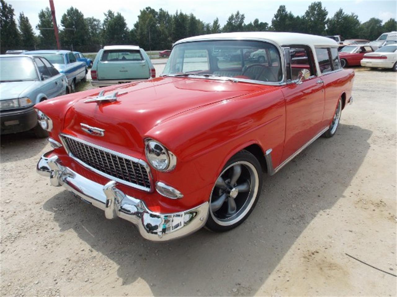 Large Picture of Classic 1955 Chevrolet Nomad located in Gray Court South Carolina Offered by Classic Cars of South Carolina - OBDX