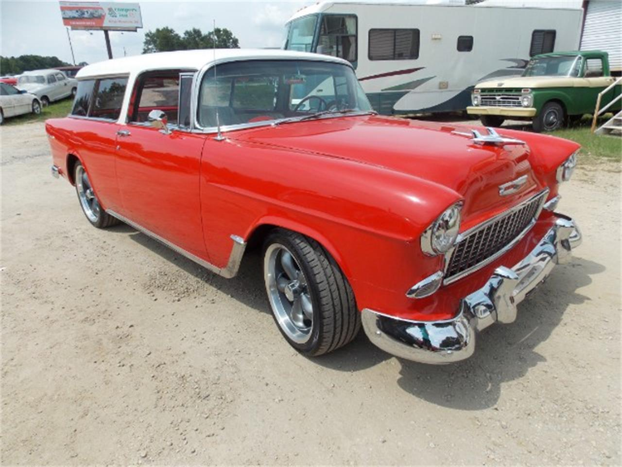 Large Picture of Classic '55 Chevrolet Nomad located in South Carolina - OBDX