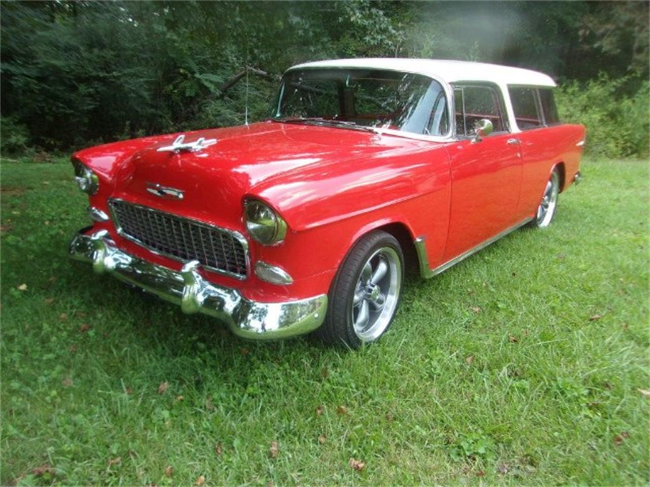 Large Picture of 1955 Chevrolet Nomad located in Gray Court South Carolina - $75,000.00 - OBDX