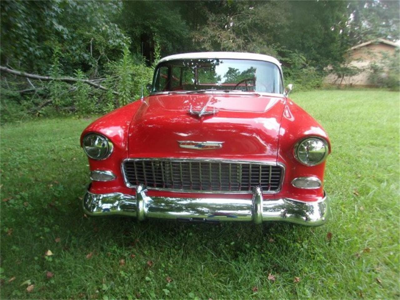 Large Picture of Classic '55 Chevrolet Nomad located in Gray Court South Carolina Offered by Classic Cars of South Carolina - OBDX