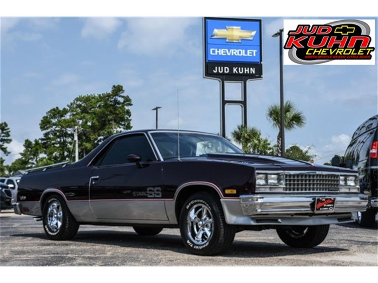 Chevrolet El Camino For Sale ClassicCarscom CC - Jud kuhn chevrolet car show