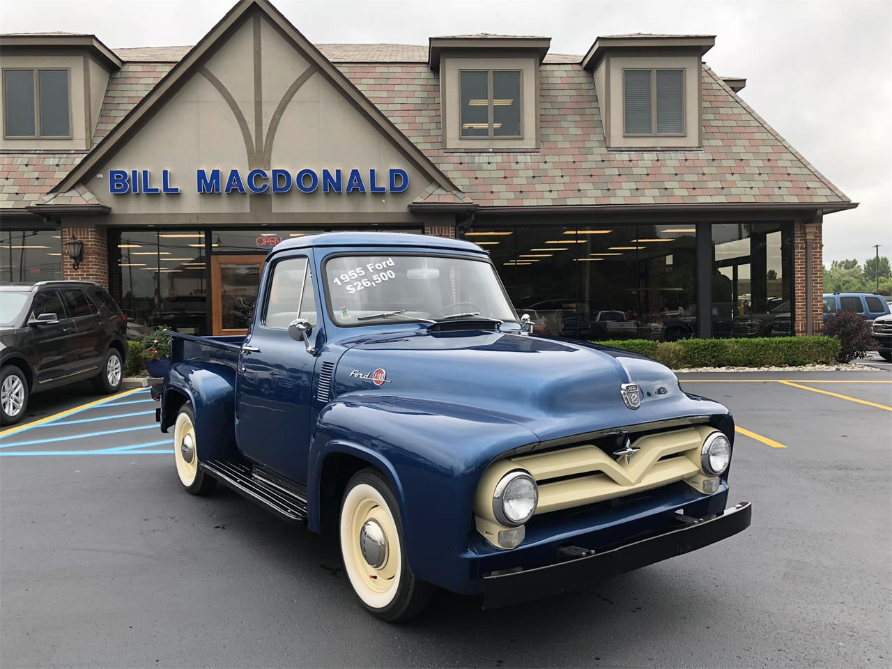 1955 Ford F100 For Sale Cc 1134784 History Large Picture Of 55 Obls