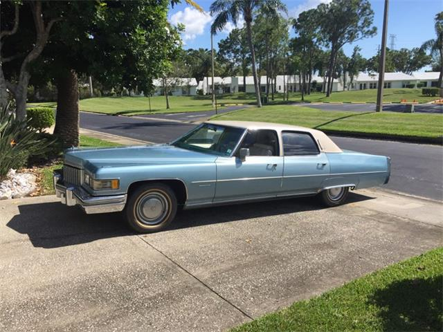 Picture of '76 Cadillac Fleetwood Brougham - O8AH