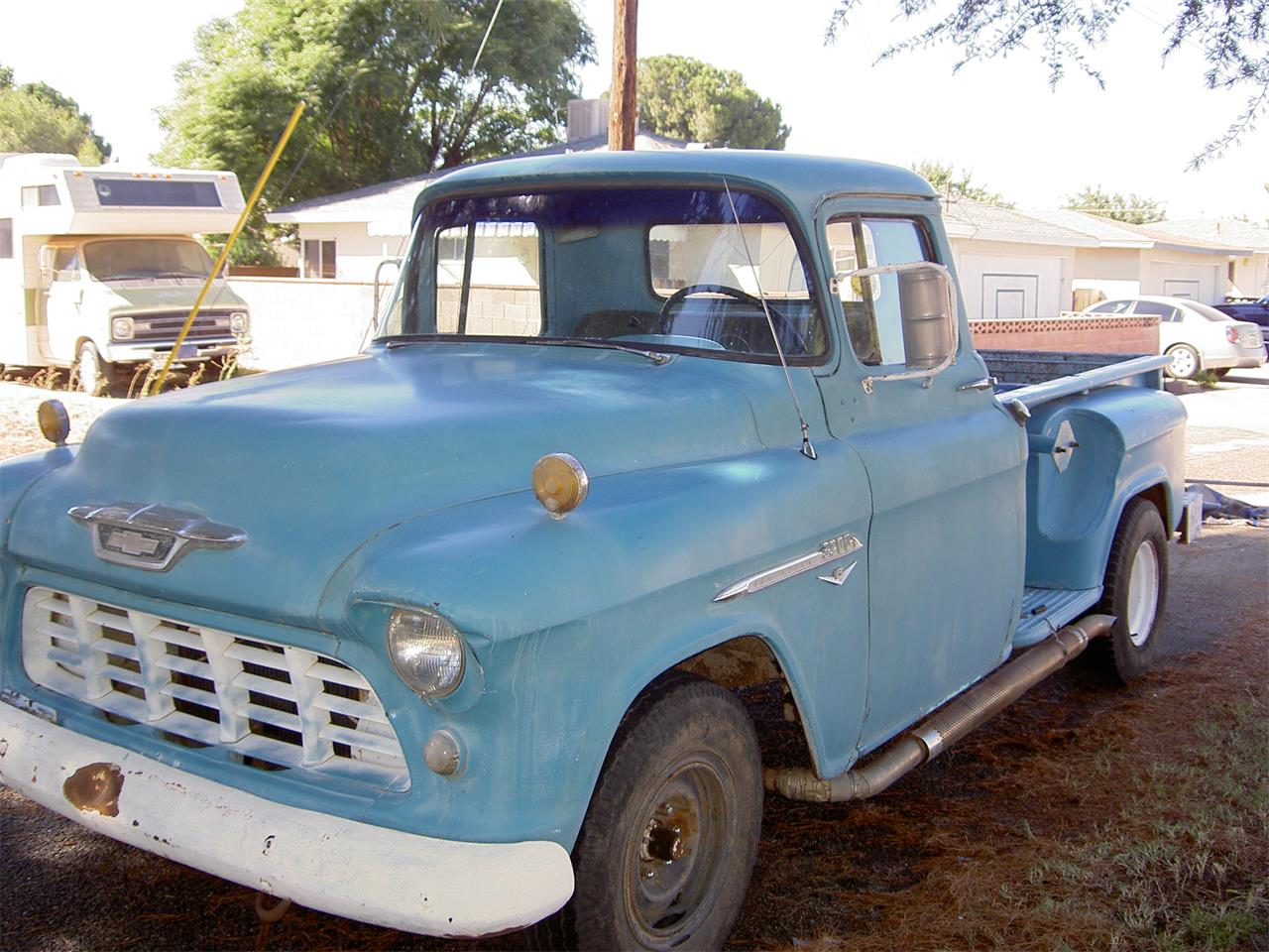 1955 Chevy Truck For Sale >> For Sale 1955 Chevrolet 3200 In Lancaster California