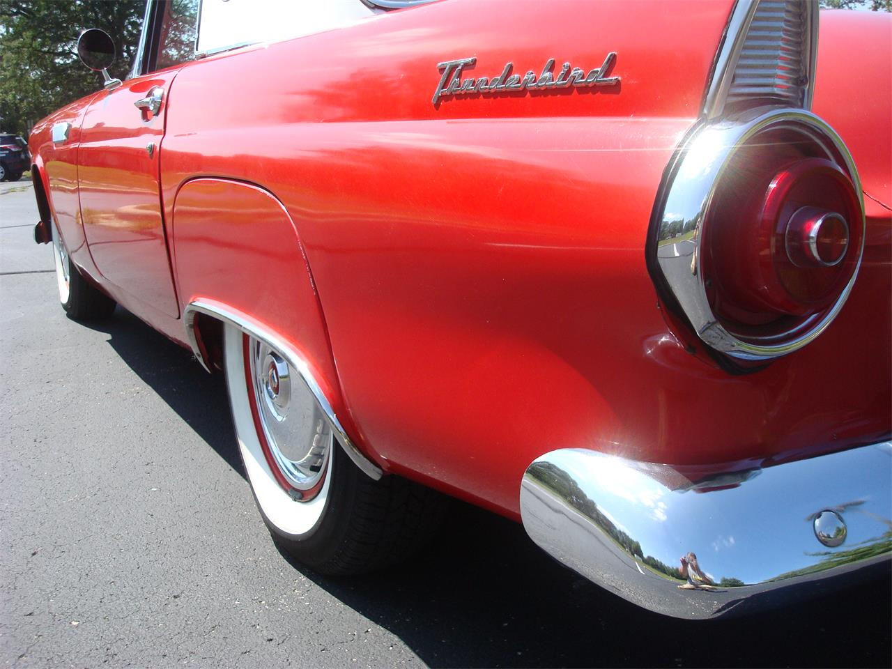 Large Picture of '55 Thunderbird - OBZR