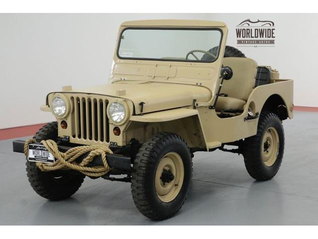 Picture of '51 Jeep Military located in Denver  Colorado Offered by  - OC11