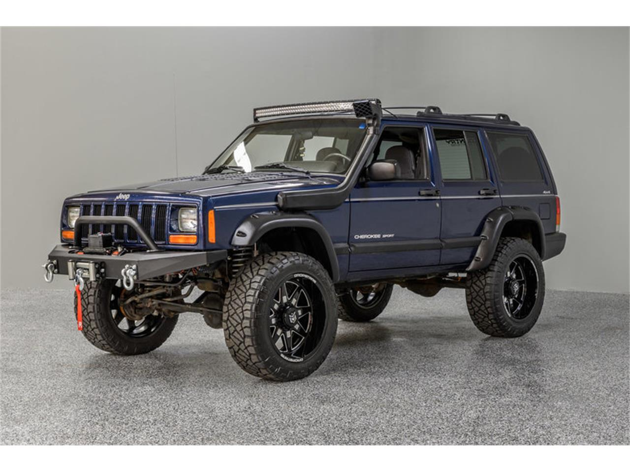 2001 jeep cherokee for sale | classiccars | cc-1135393