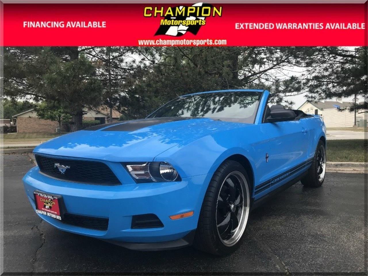 2011 Ford Mustang For Sale Classiccars Com Cc 1135515
