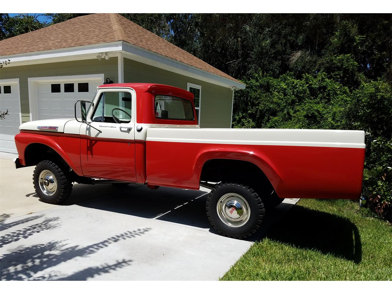 Large Picture of 1962 Ford F100 - OC7B