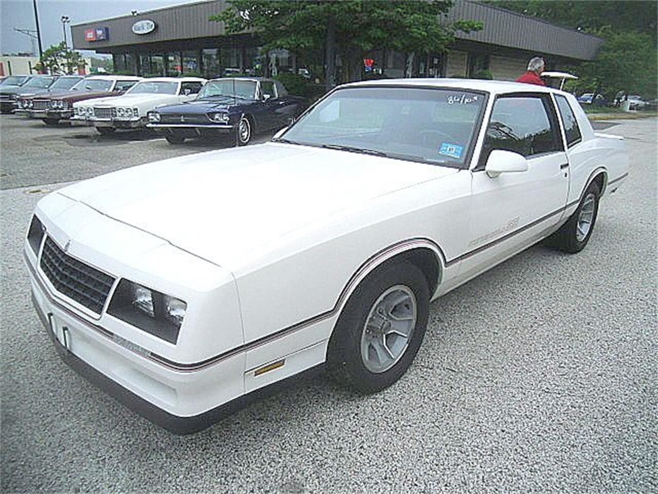 1985 to 1987 chevrolet monte carlo ss for sale. Black Bedroom Furniture Sets. Home Design Ideas