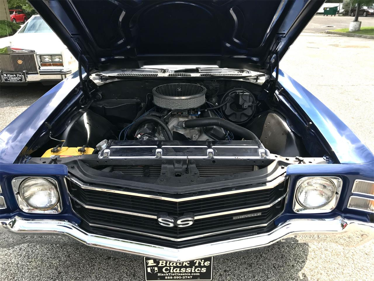 Large Picture of '71 Chevelle SS located in New Jersey Offered by Black Tie Classics - OCBN