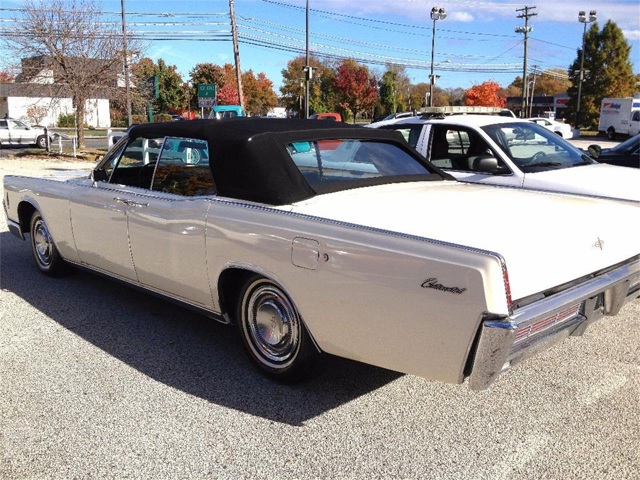 Large Picture of 1966 Lincoln Continental located in New Jersey - $27,990.00 Offered by Black Tie Classics - OCC2