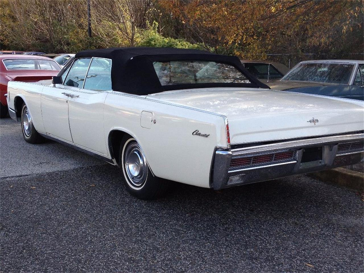 Large Picture of '66 Continental located in Stratford New Jersey Offered by Black Tie Classics - OCC2
