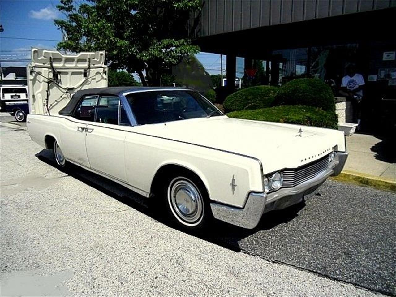Large Picture of '66 Lincoln Continental located in New Jersey - $27,990.00 Offered by Black Tie Classics - OCC2