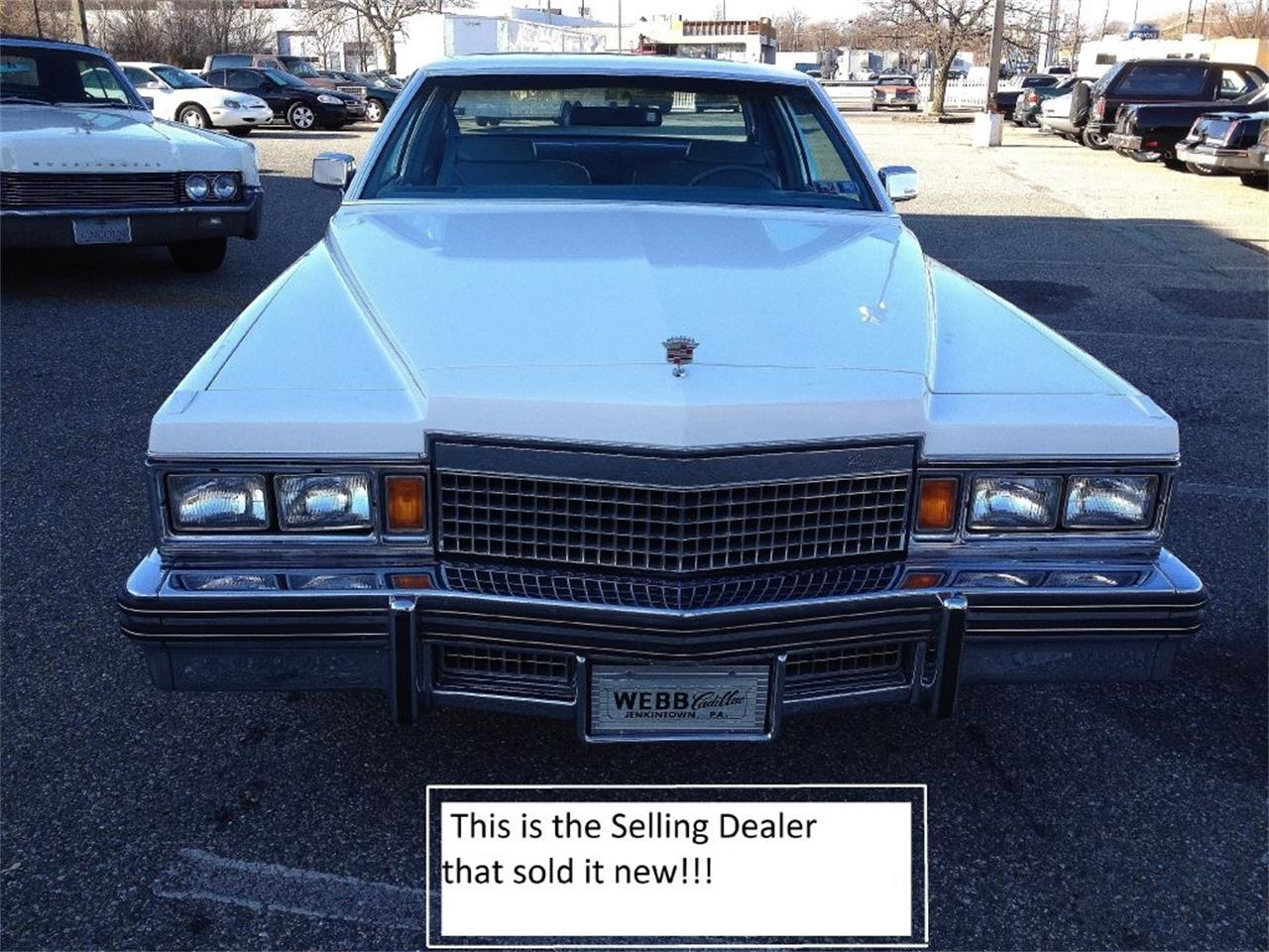 Large Picture of 1979 DeVille Offered by Black Tie Classics - OCDQ