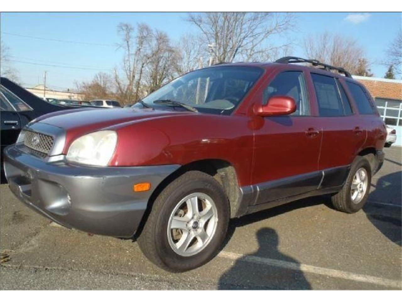 Large Picture of '04 Hyundai Santa Fe - OCEY
