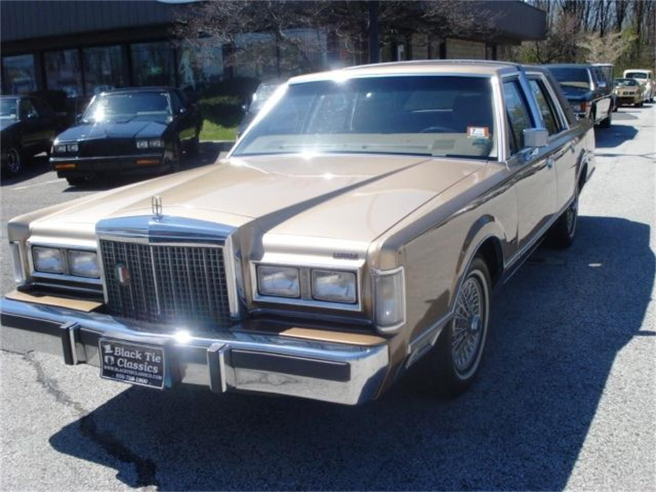 Large Picture of '86 Continental - OCFJ