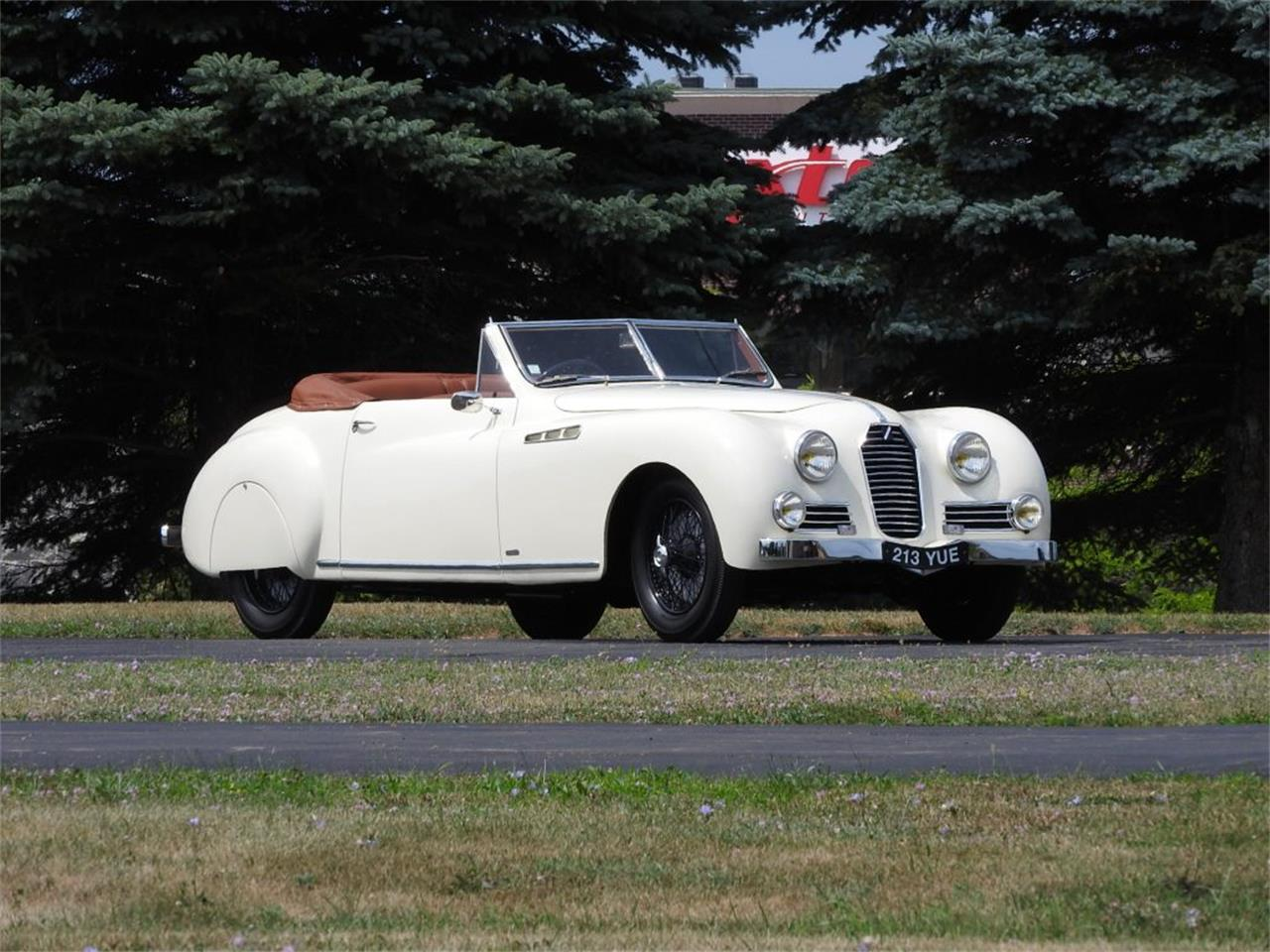 Large Picture of '50 Talbot-Lago Roadster located in Michigan Auction Vehicle Offered by Nostalgic Motoring Ltd. - OCHL