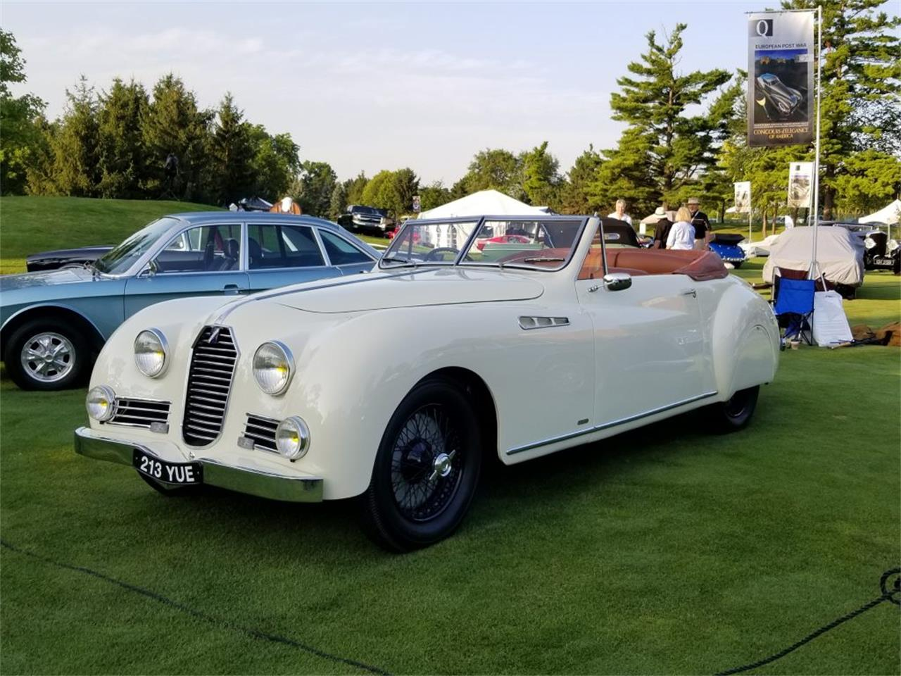 Large Picture of Classic '50 Talbot-Lago Roadster located in Michigan Offered by Nostalgic Motoring Ltd. - OCHL