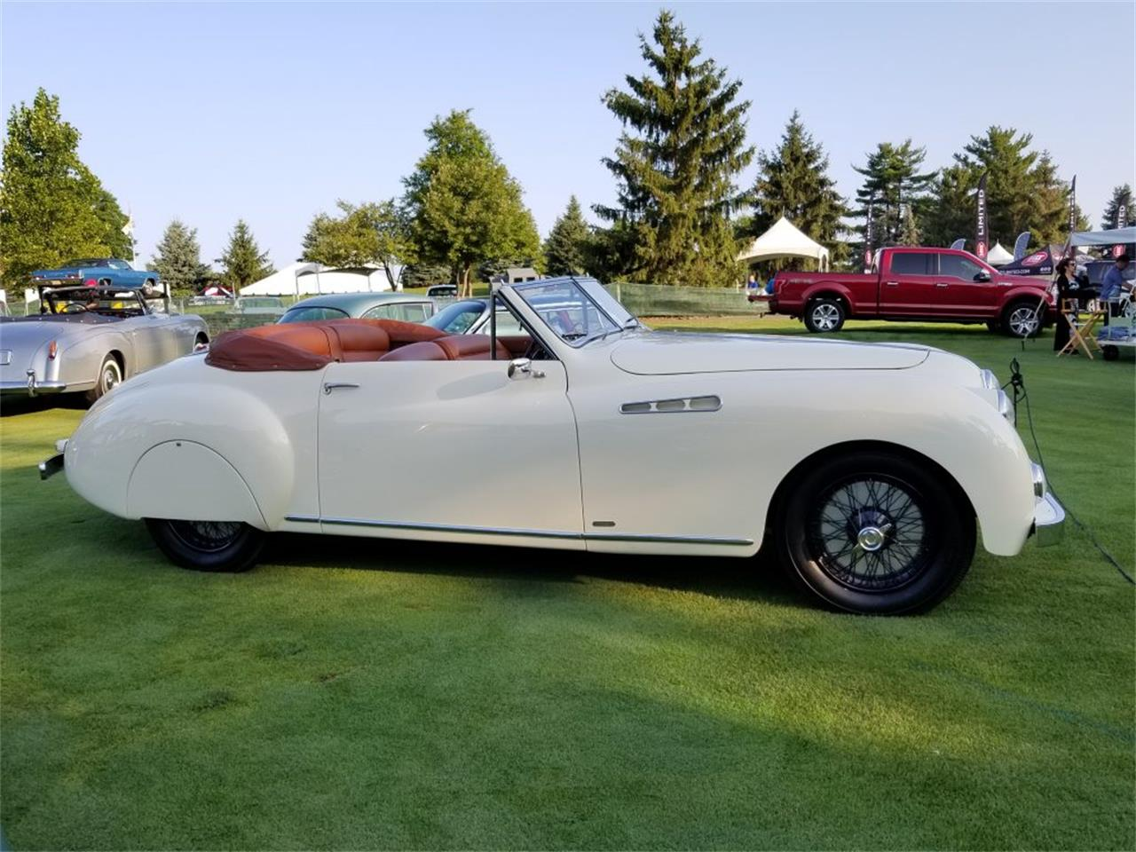 Large Picture of '50 Roadster located in Michigan Auction Vehicle Offered by Nostalgic Motoring Ltd. - OCHL