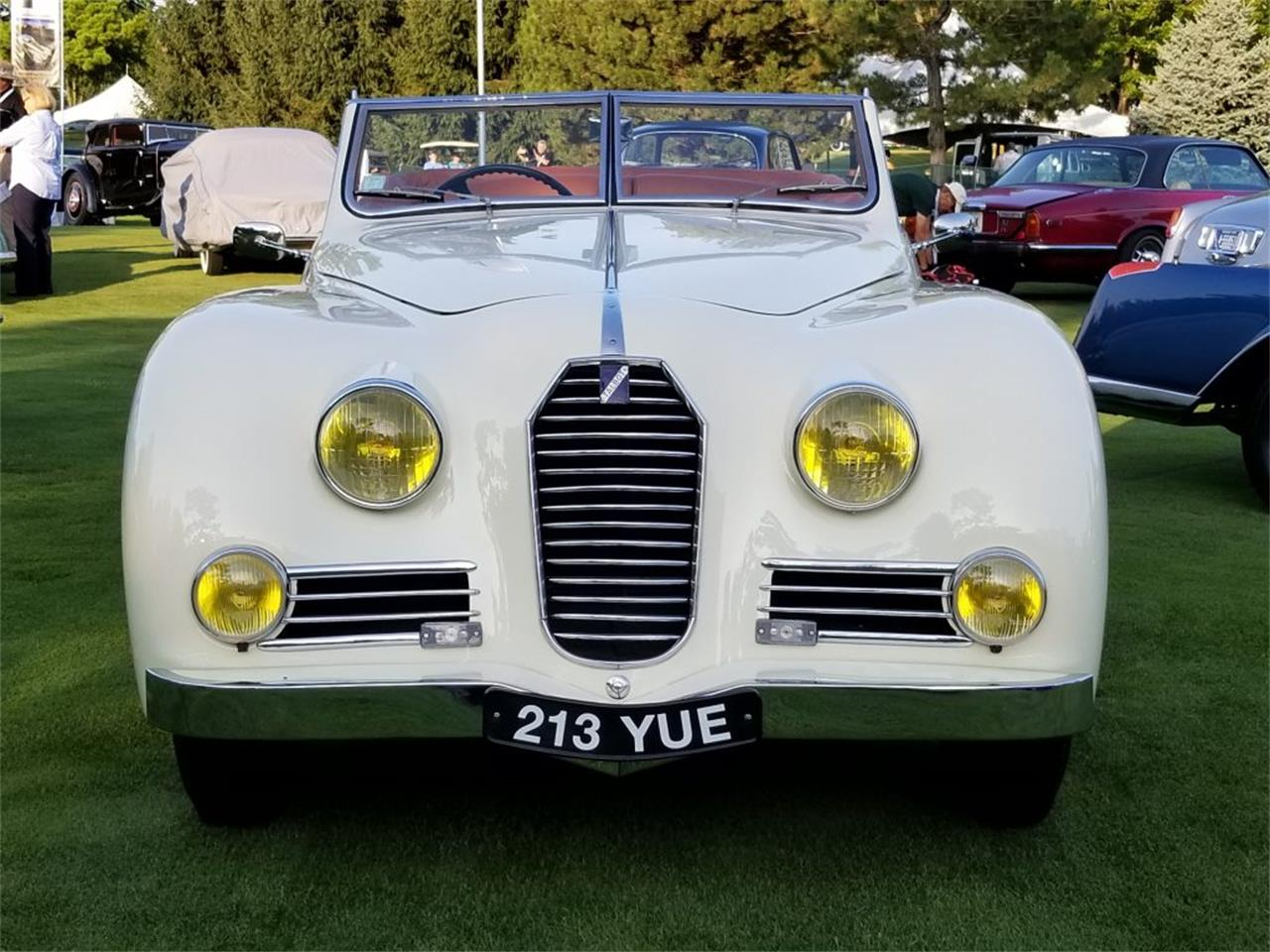 Large Picture of Classic '50 Talbot-Lago Roadster located in Auburn Hills Michigan Auction Vehicle Offered by Nostalgic Motoring Ltd. - OCHL