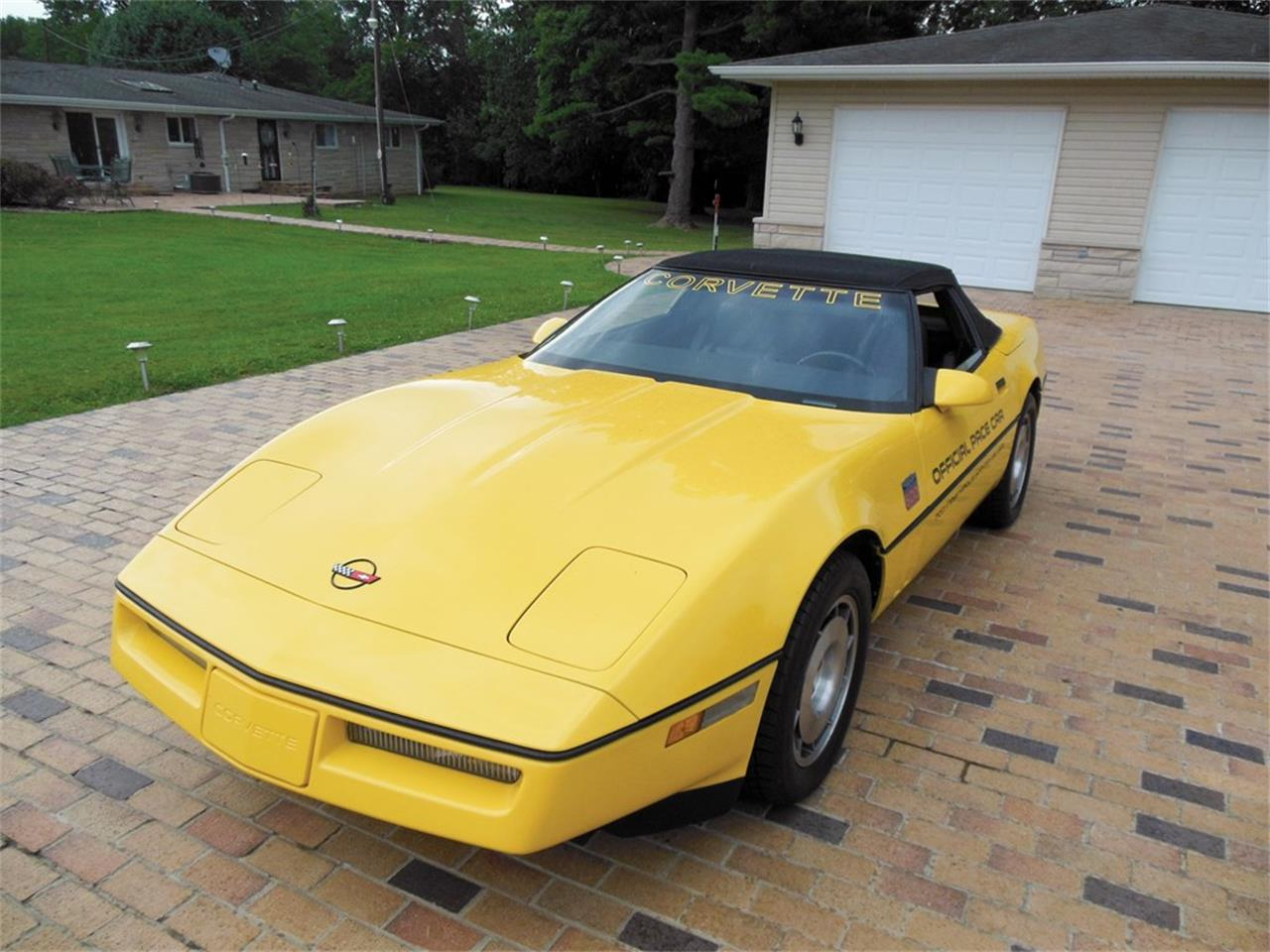 Picture of '86 Corvette Convertible Indianapolis Pace Car - OCJG