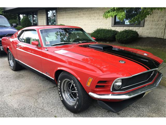 Picture of '70 Ford Mustang Mach 1 located in New Jersey - $37,900.00 - OCMN