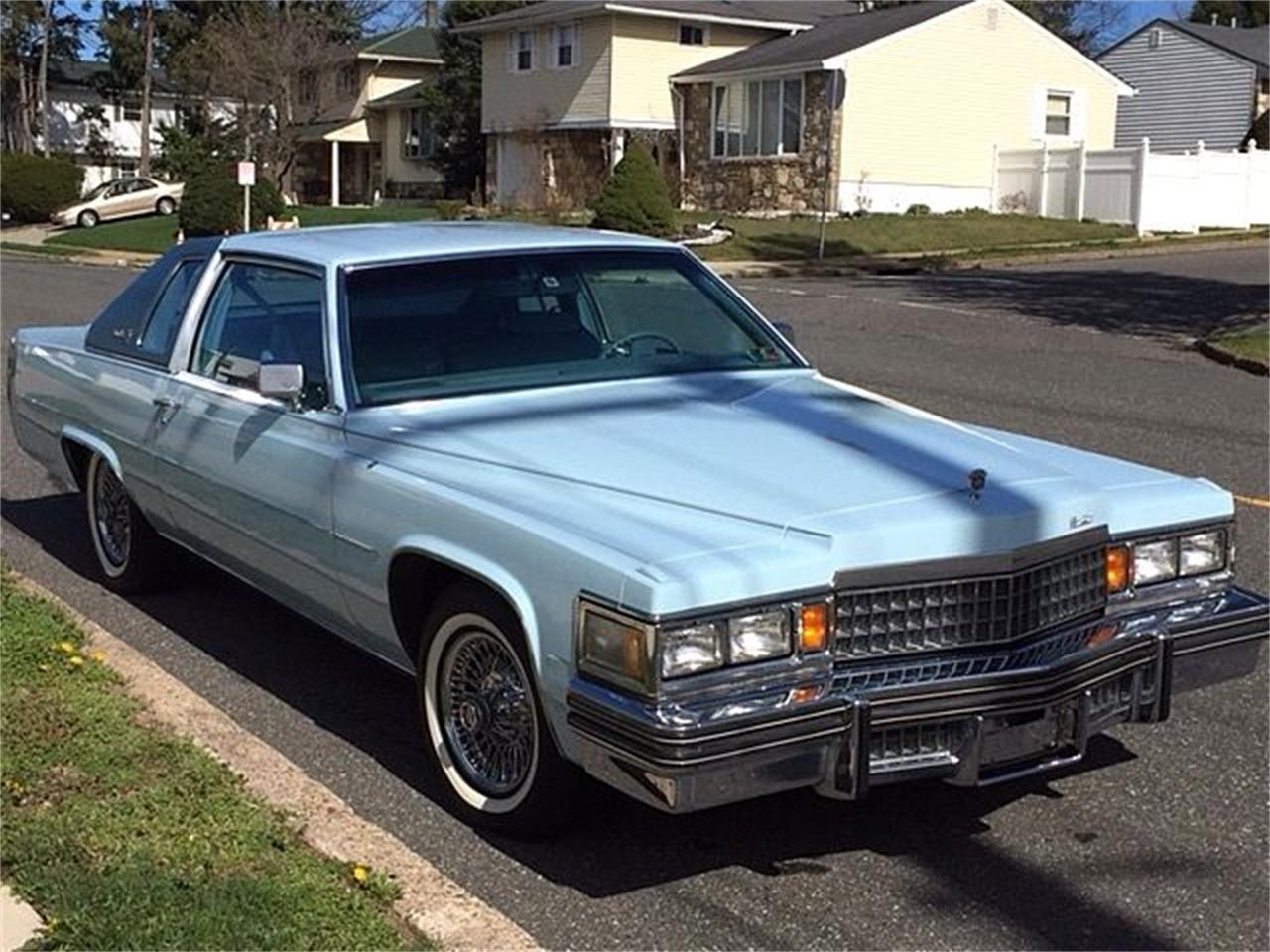 Large Picture of 1978 Cadillac Coupe DeVille located in New Jersey Offered by Black Tie Classics - OCN8